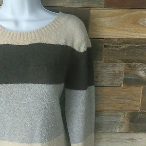 American Eagle size medium striped sweater